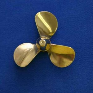 """Brass Props with 1/8"""" Hole Threaded 5-40"""